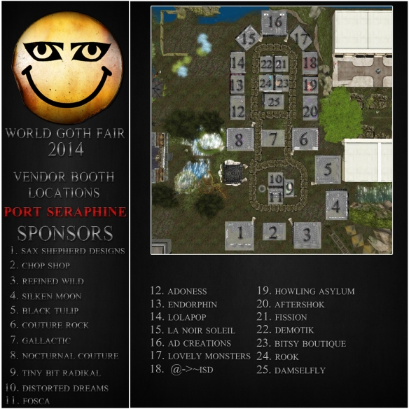 WGF Port Seraphine 2014 Map